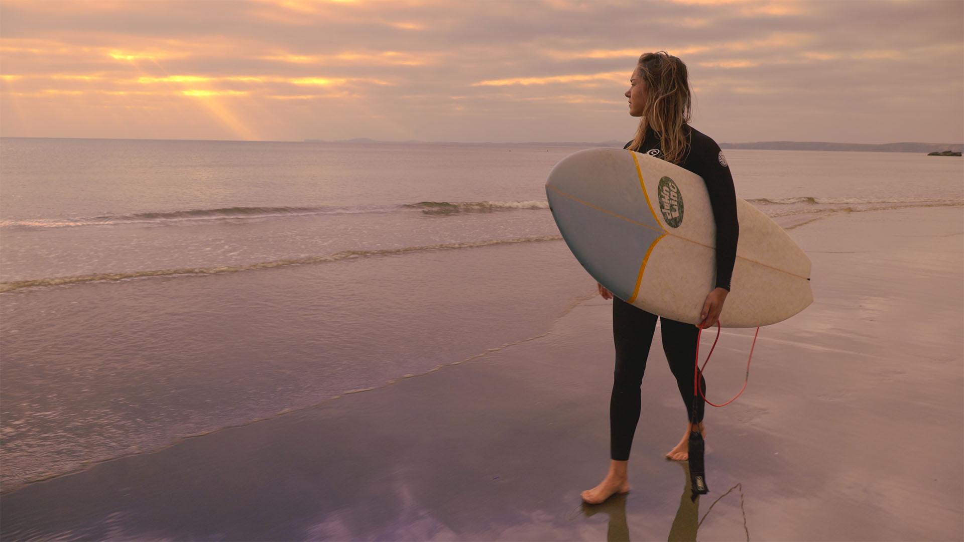 RedShark's Maari Innes looks for those waves!