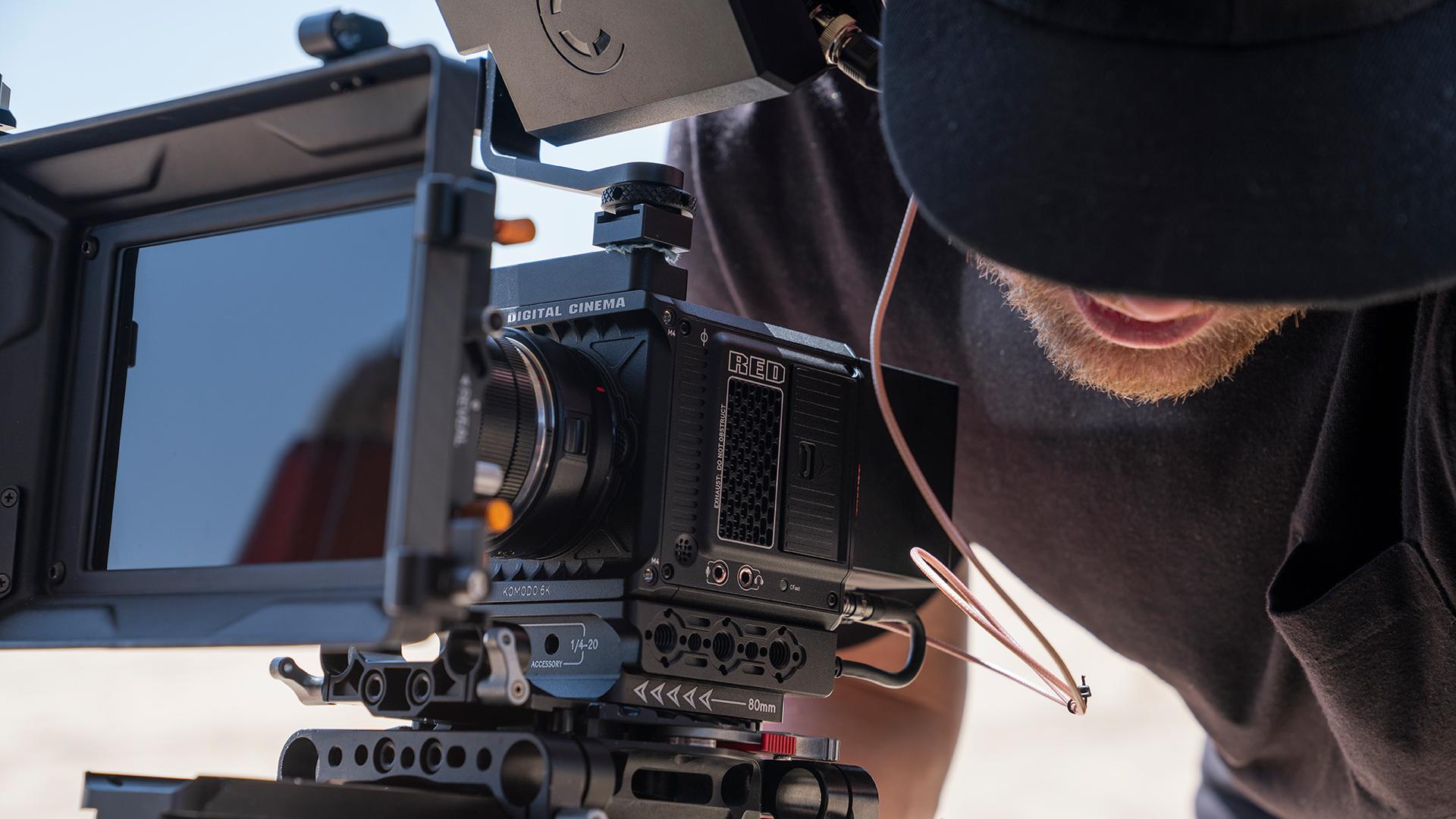RED KOMODO. Image: RED Digital Cinema.