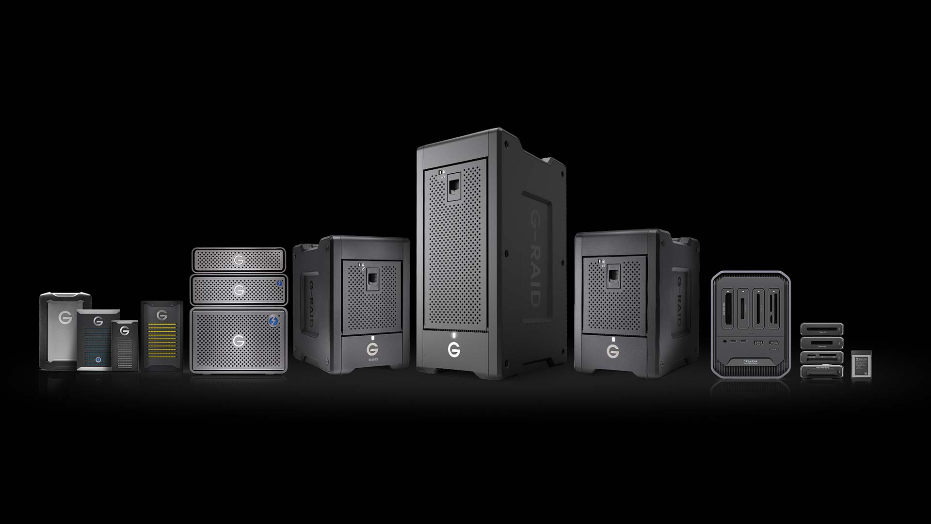 G-Technology is no more, but it has been reborn as SanDisk Professional. Image: Western Digital.