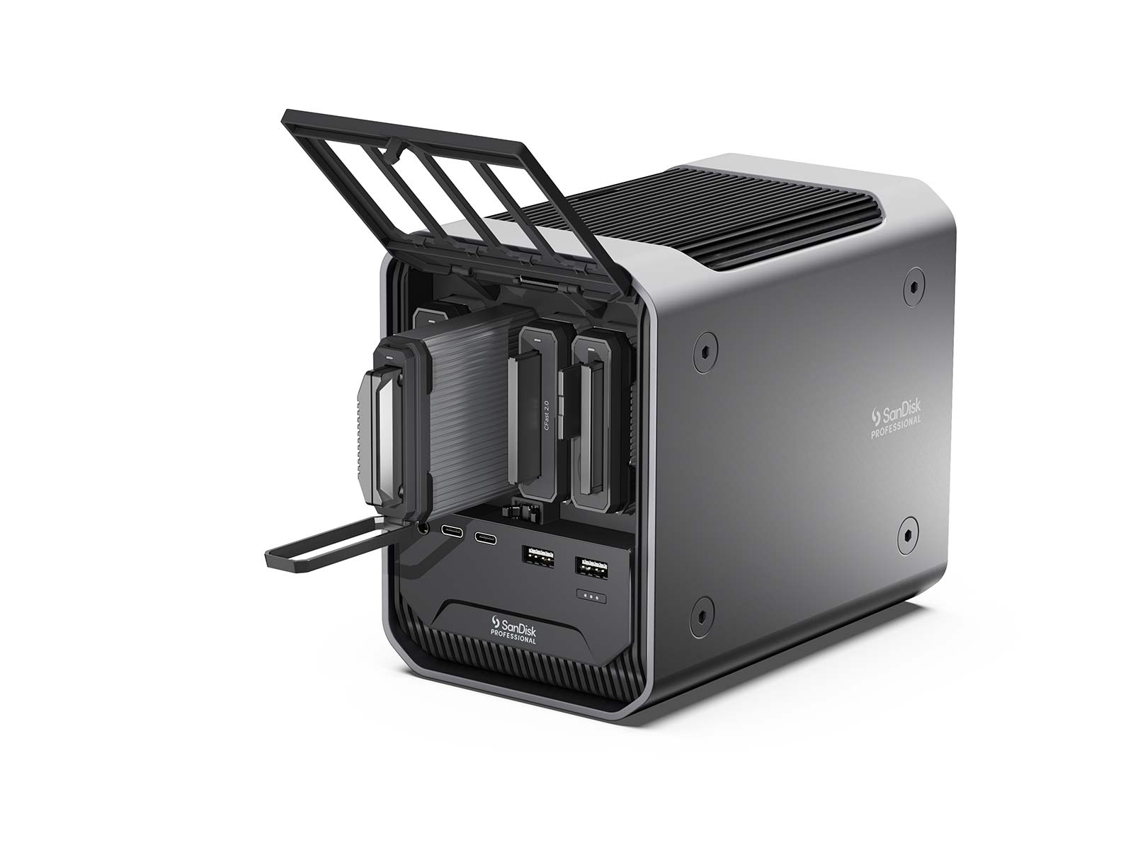 The new SanDisk Professional PRO-DOCK 4.