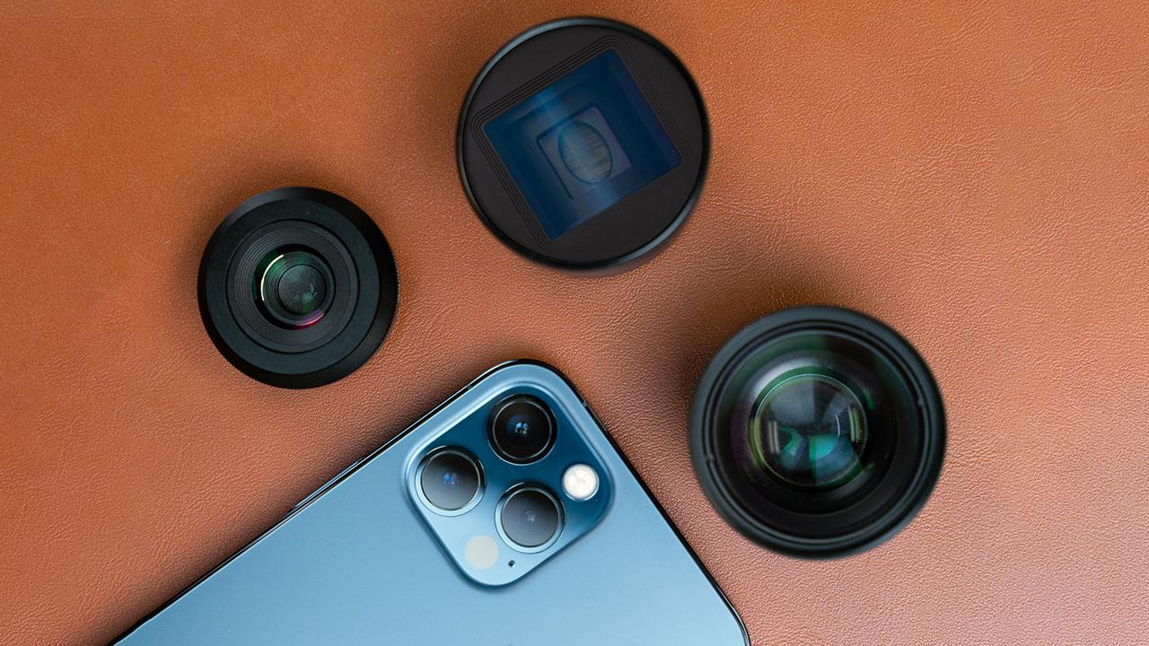 Sandmarc iPhone 12 lenses. Image: Sandmarc.