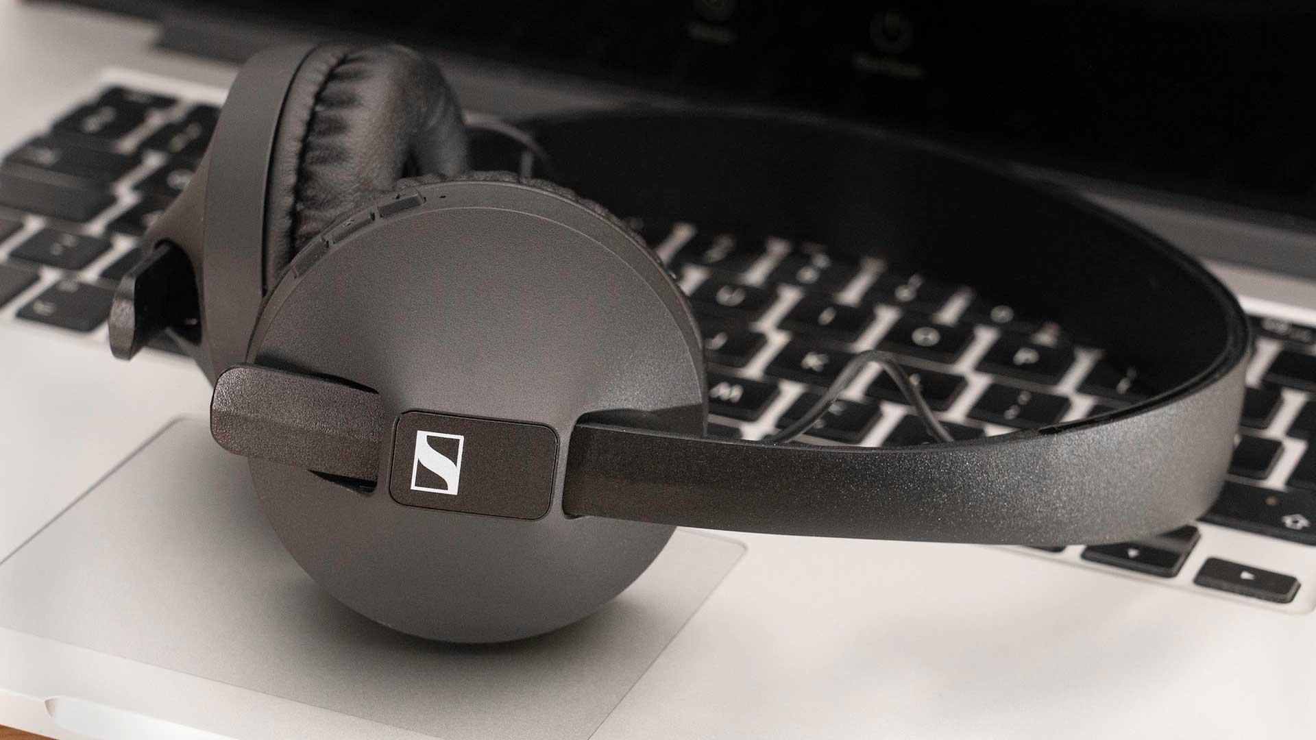 Sennheiser HD250BT headphones.