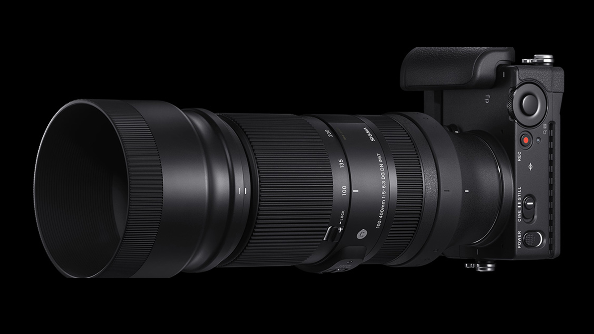 Sigma 100-400mm F5-6.3 DG DN OS Contemporary lens