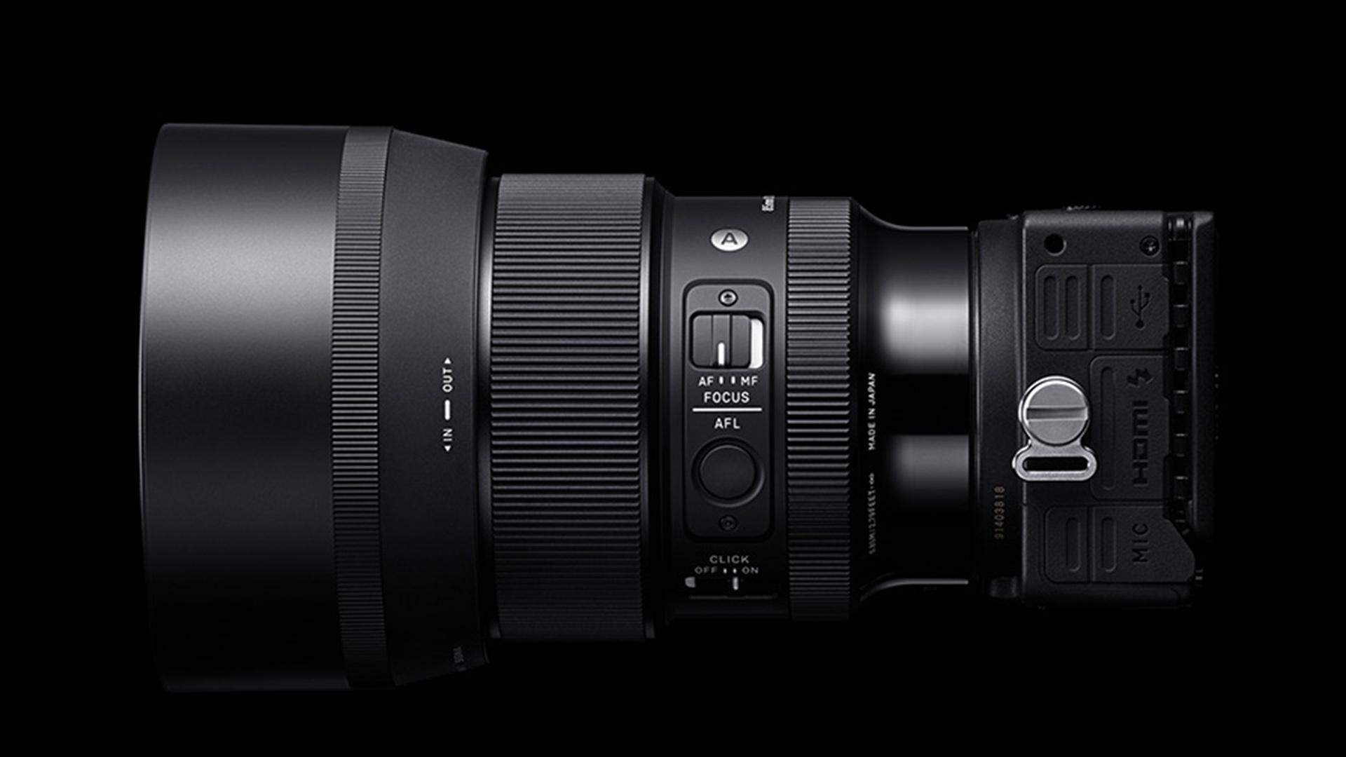 Sigma 85mm f/1-4 DG DN Art lens. Image: Sigma.