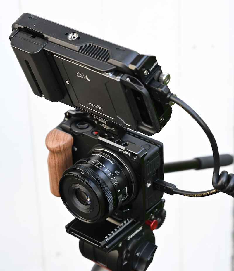 The SIGMA fp joins the HDMI RAW club. Image: Atomos.