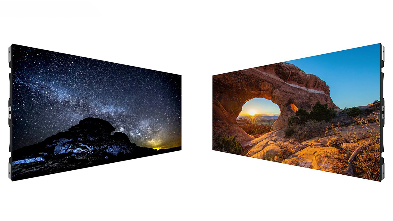Sony's new Crystal LED series direct view displays. Image: Sony.