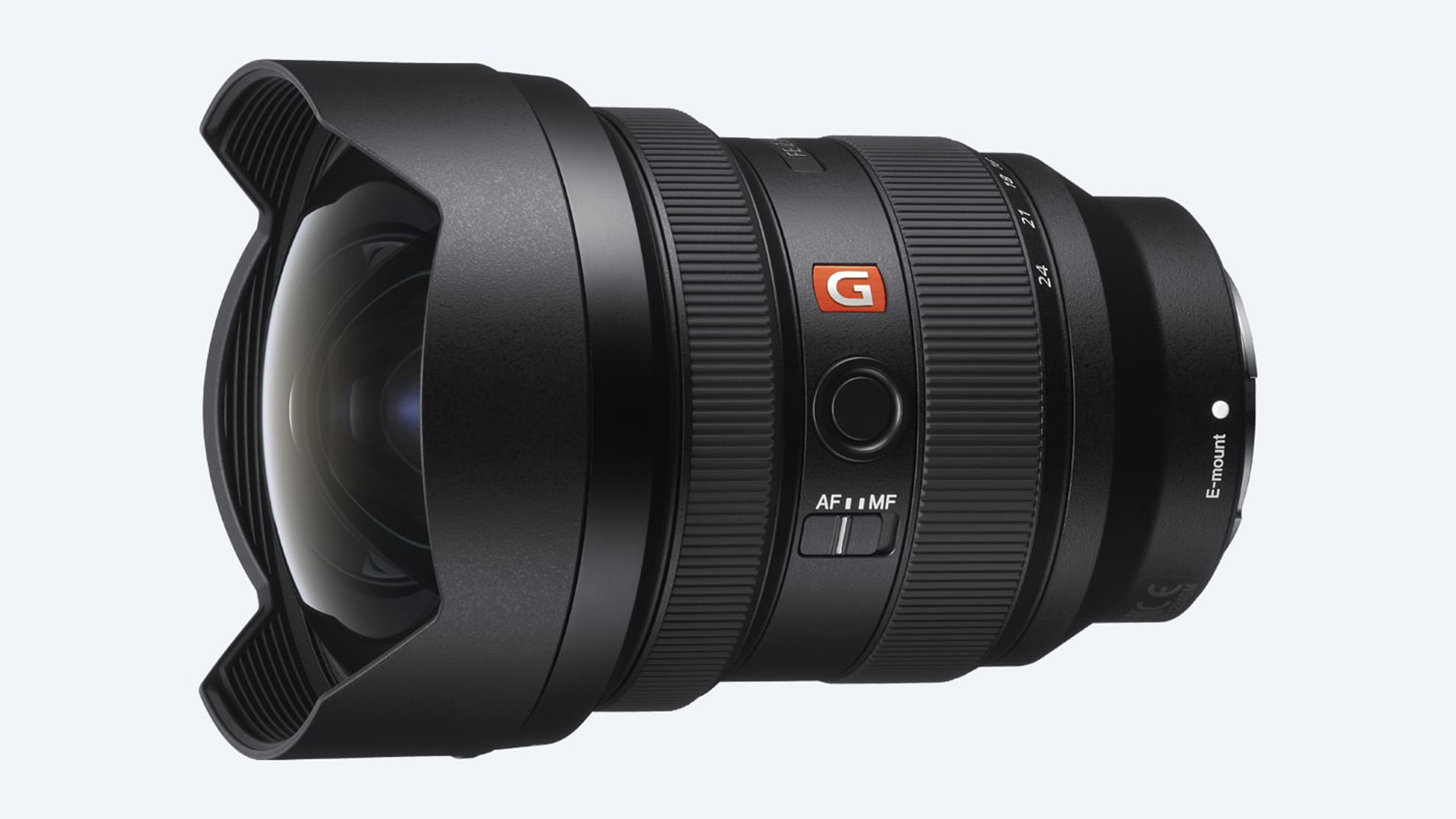 The Sony 12-24mm f/2.8 G Master lens. Image: Sony.