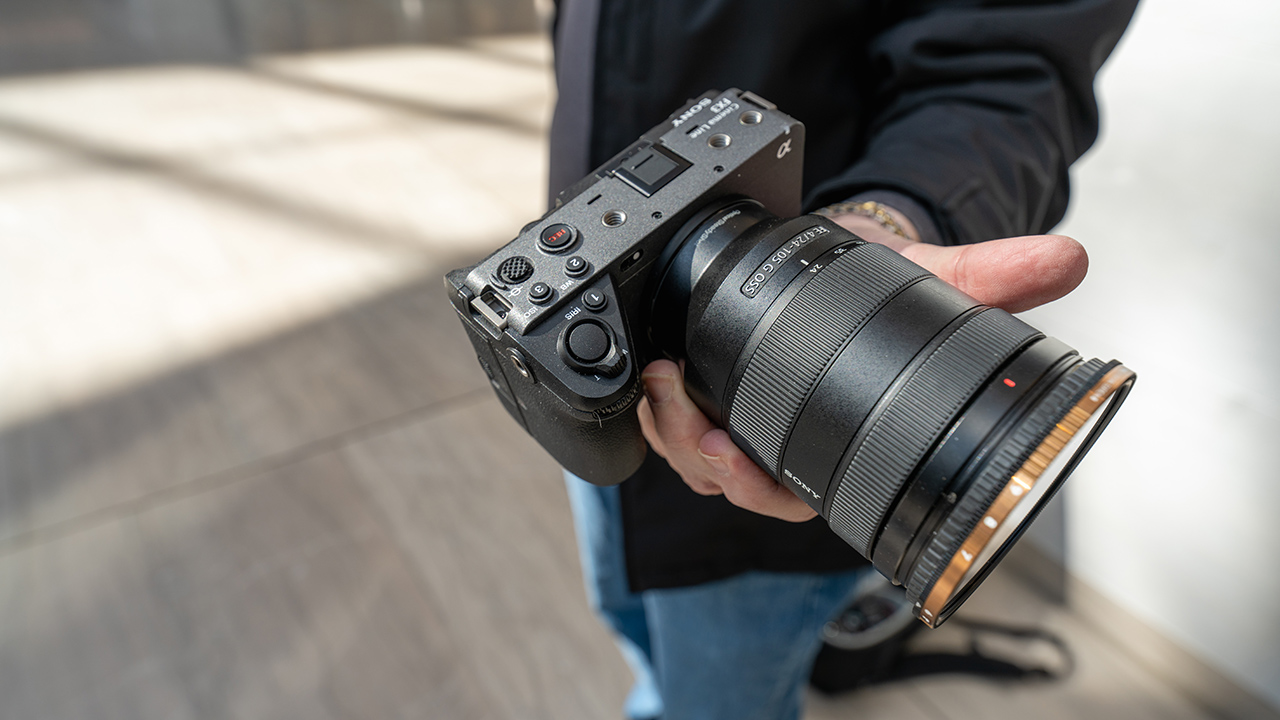 First impressions of the Sony FX3. Image: Mark Forman.