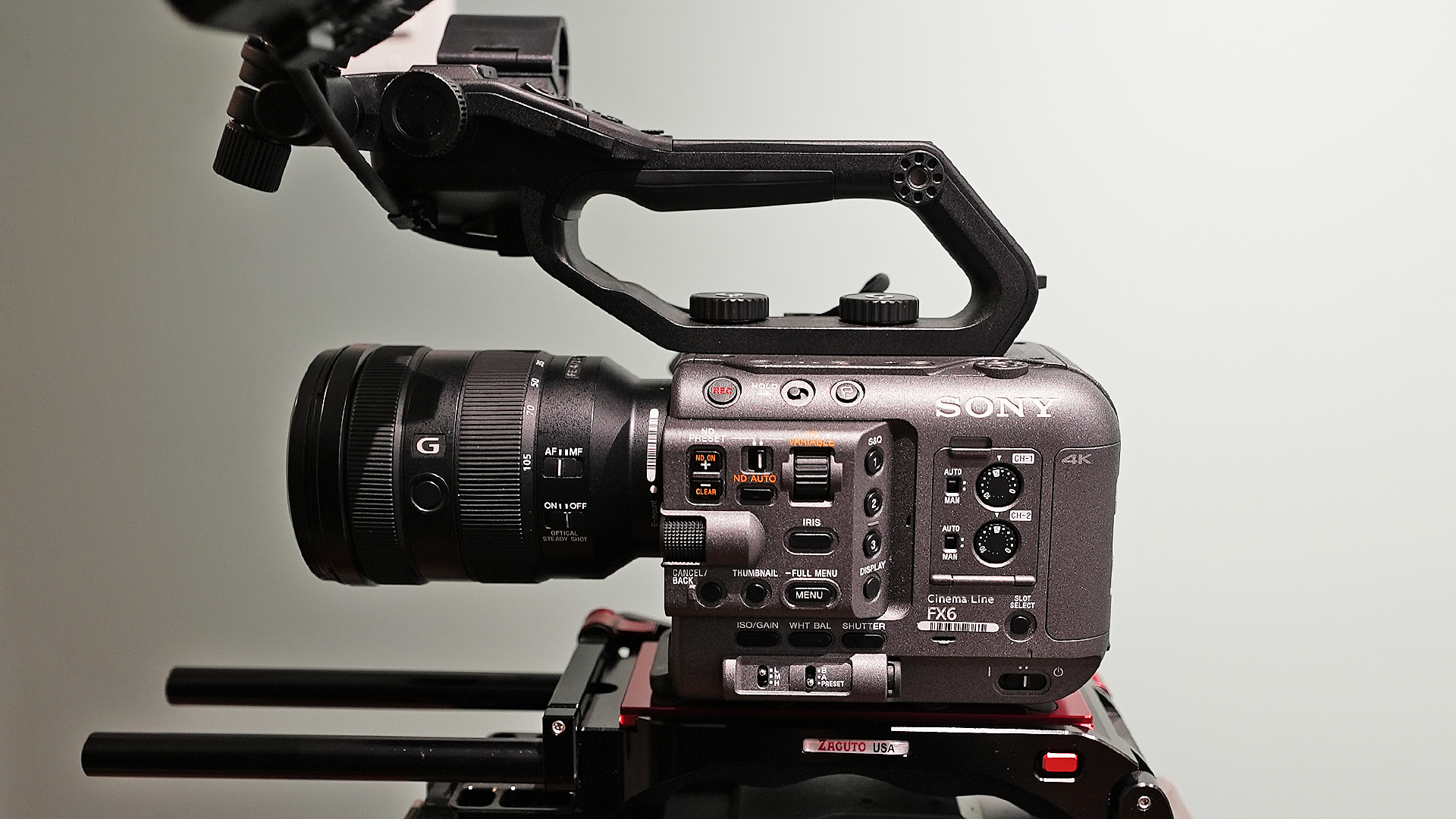 The Sony FX6.