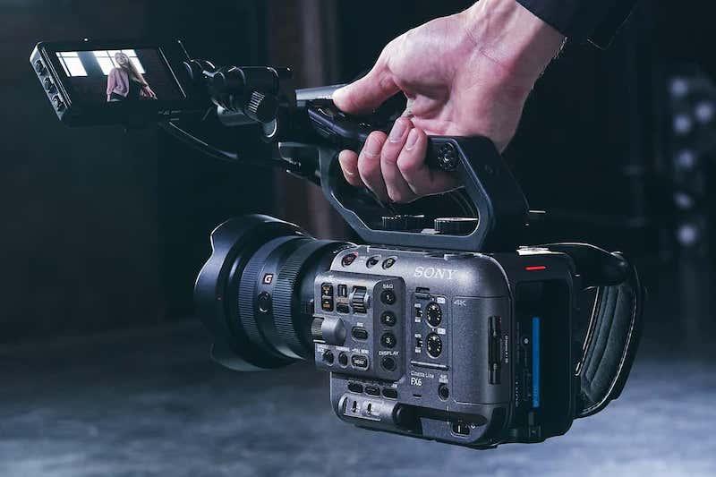 Sony FX6. Image: Sony.