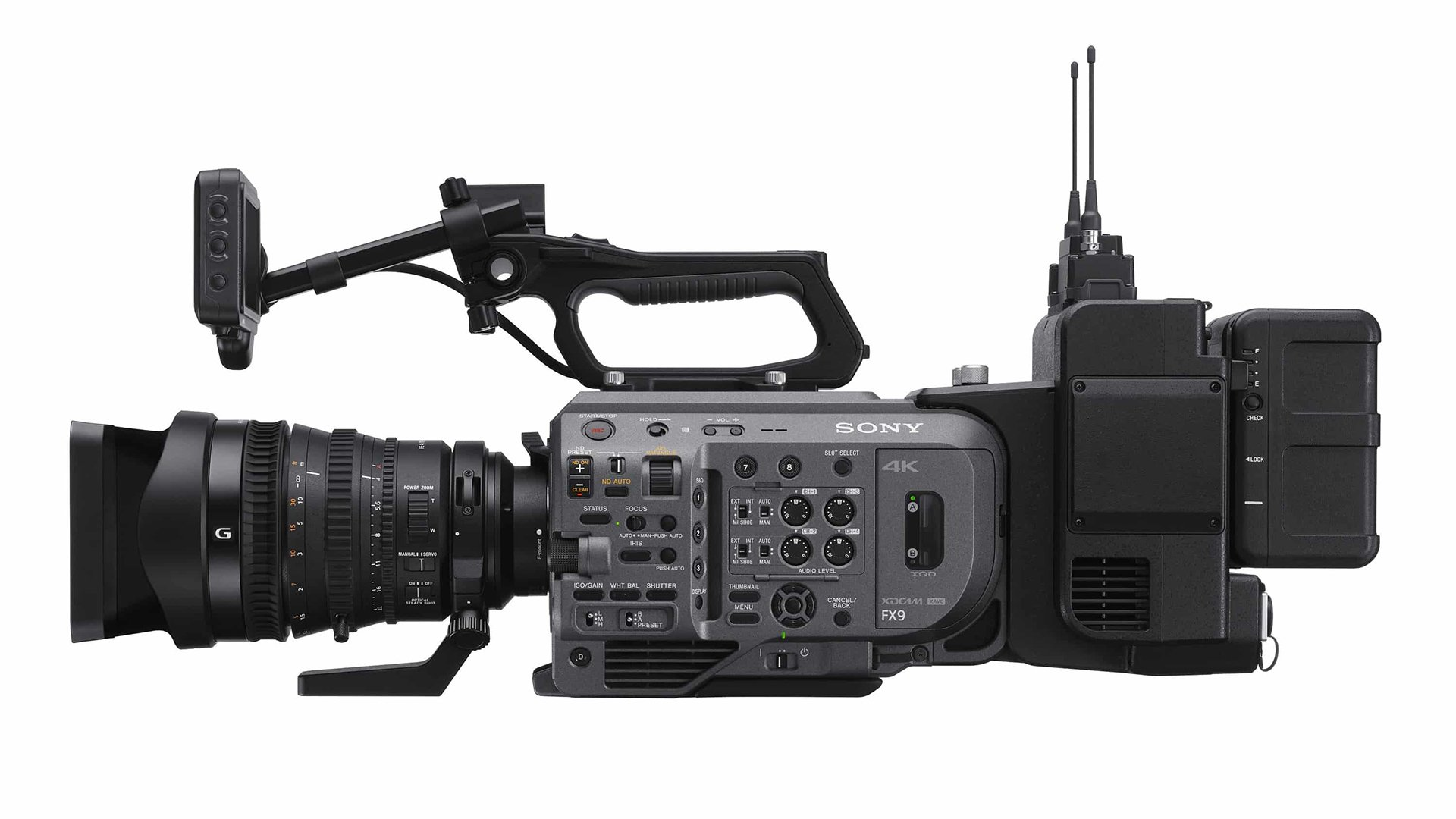 The Sony FX9. Image; Sony.