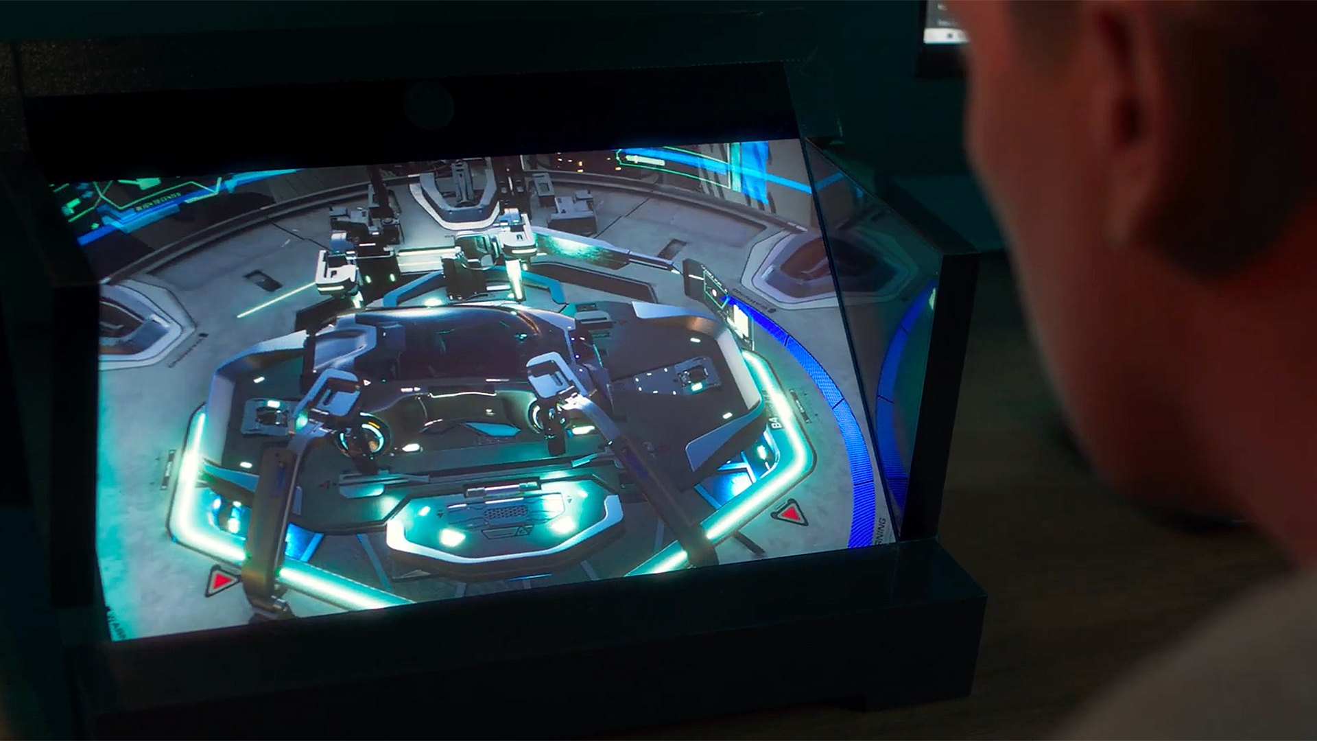 Sony volumetric Spacial Reality Display. Image: Sony.