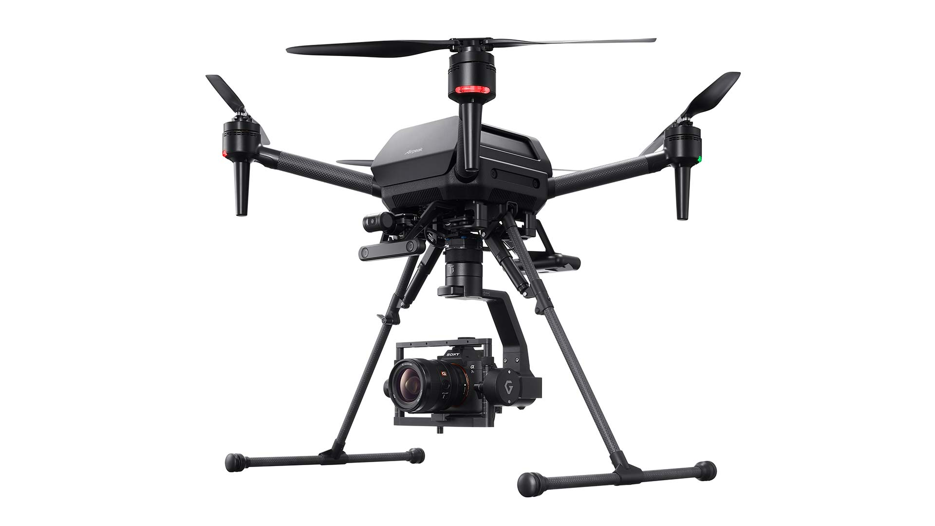 Sony has released more details about its Airpeak drone. Image: Sony.
