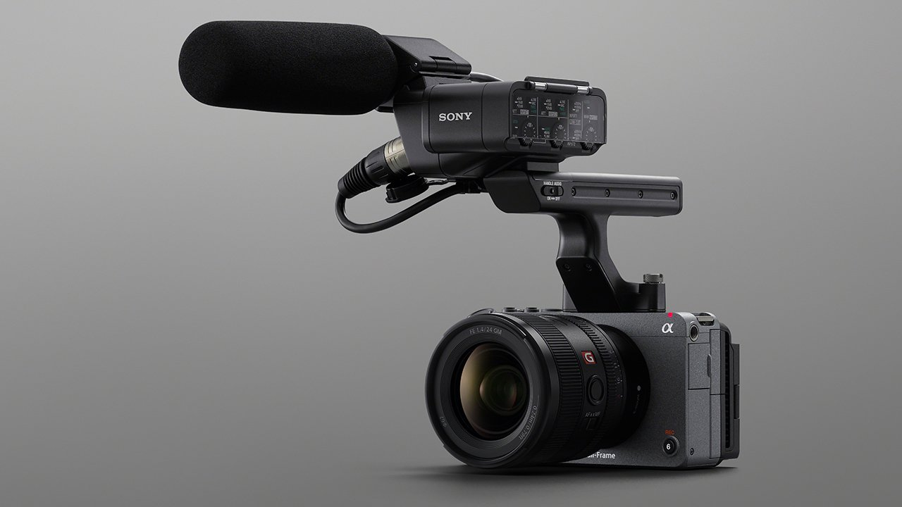 The Sony FX3 was announced today. Image: Sony.