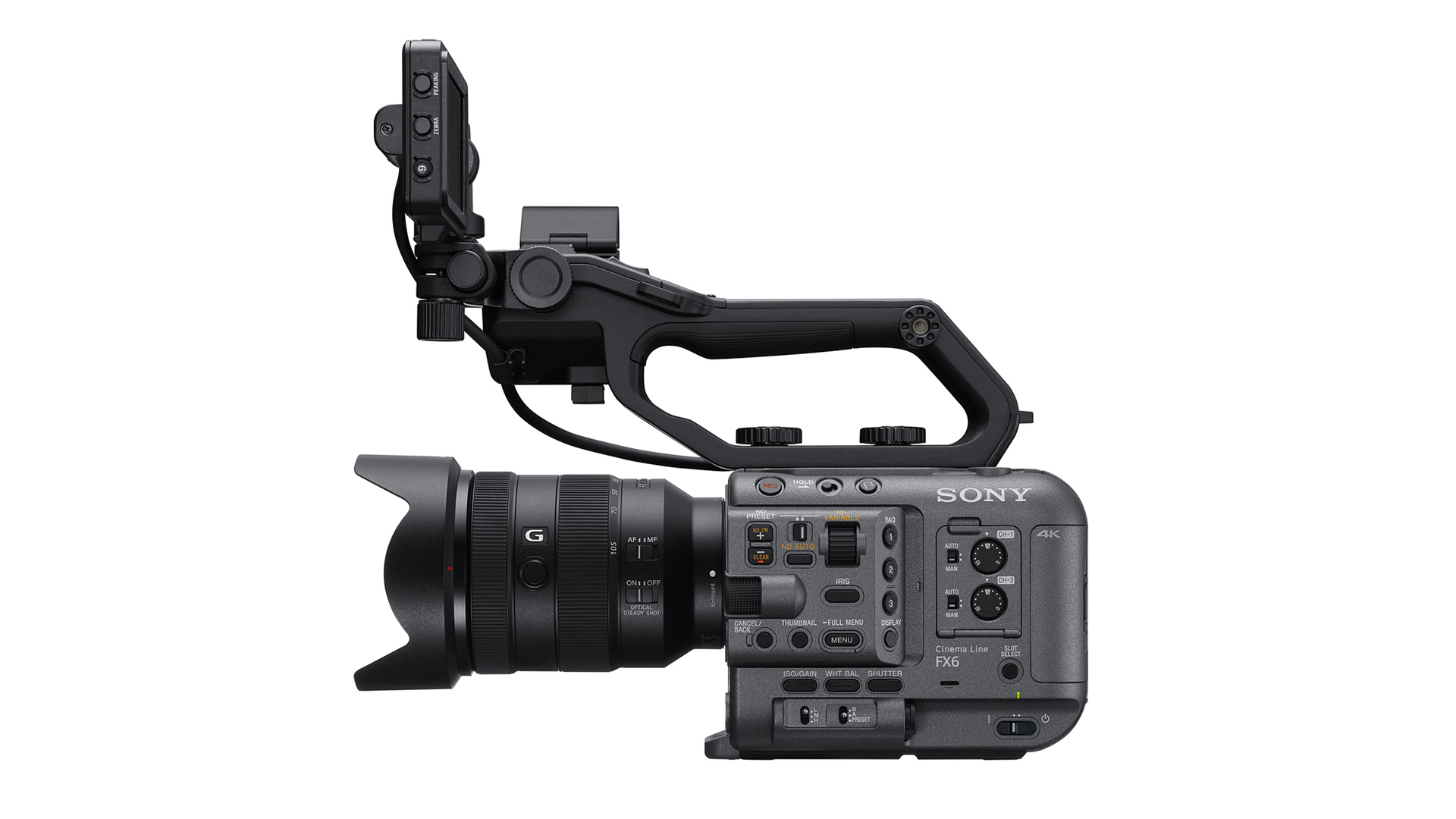 The new Sony FX6, a successor to the FS5.