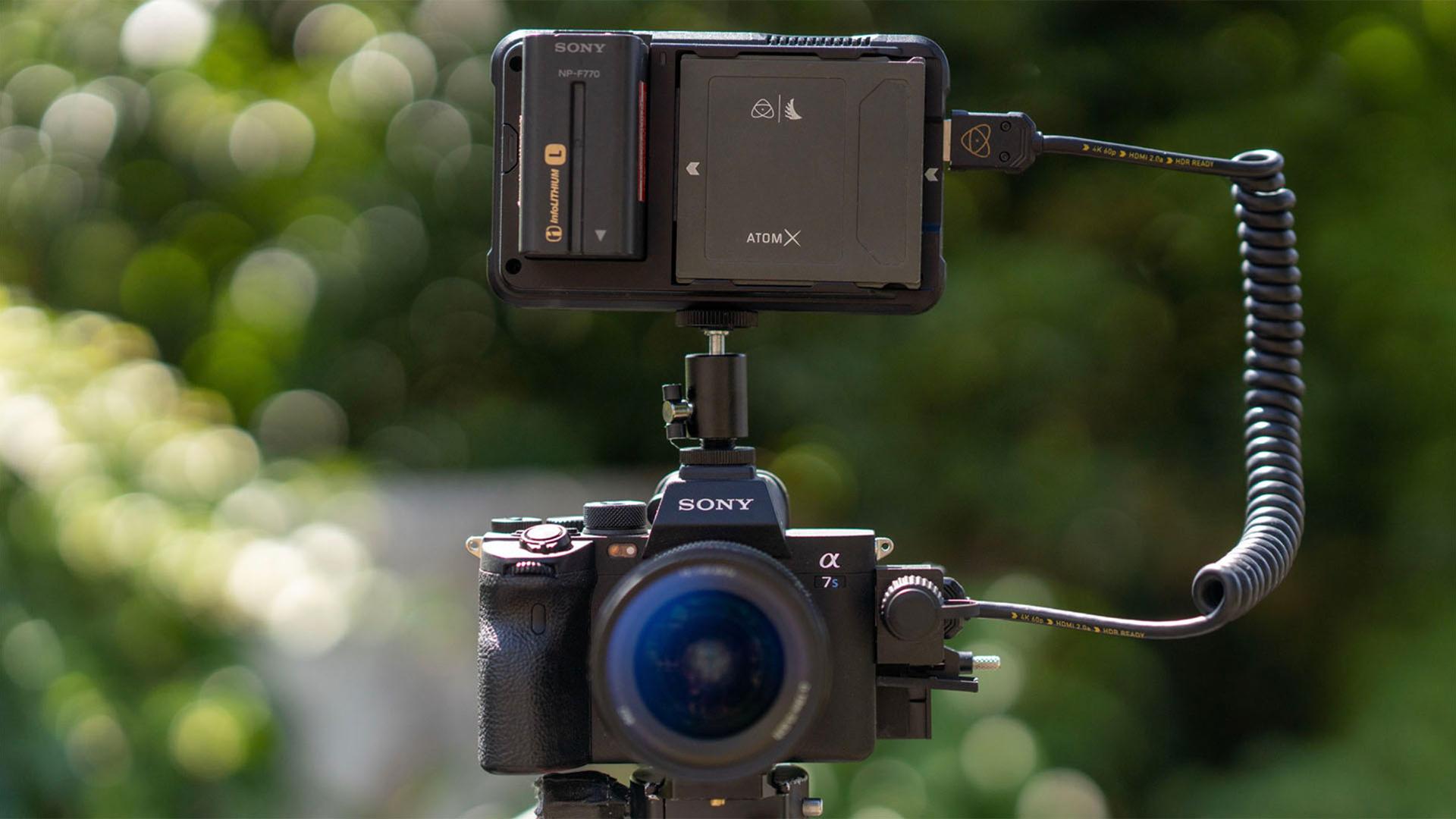 Sony a7SIII with Atomos Ninja V. Image: Atomos.