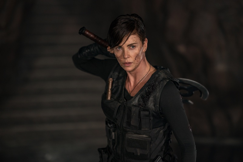 Charlize Theron in The Old Guard. Image: Netflix.