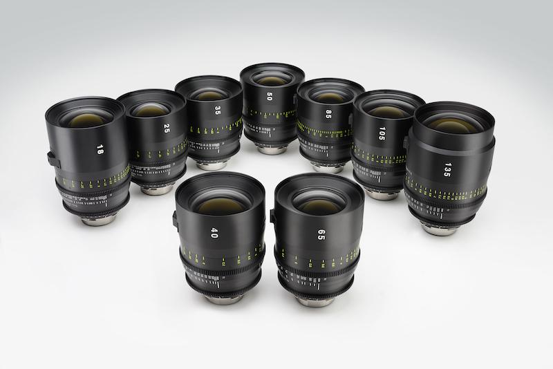 The full Tokina Cinema Vista lens lineup. Image: Tokina.