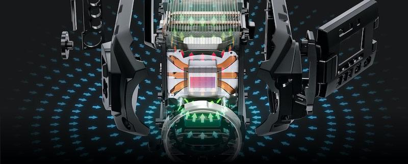 URSA Mini Pro 12K sensor technology