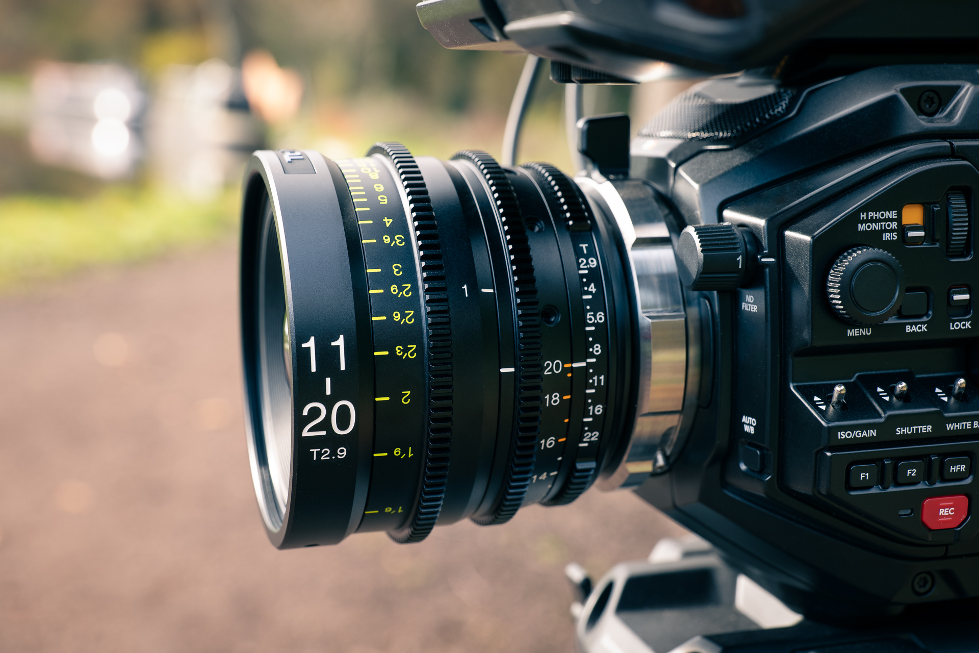URSA Mini Pro 12K with Tokina 11-20mm T2-9 lens.