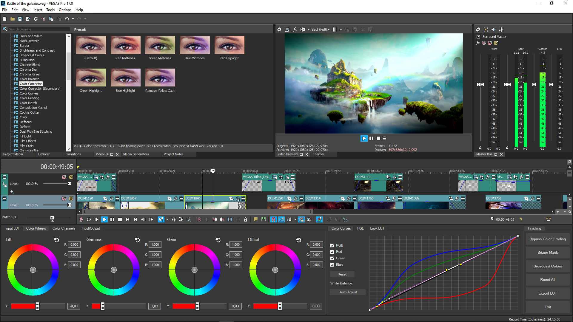 VEGAS Pro 17 and 18 review.