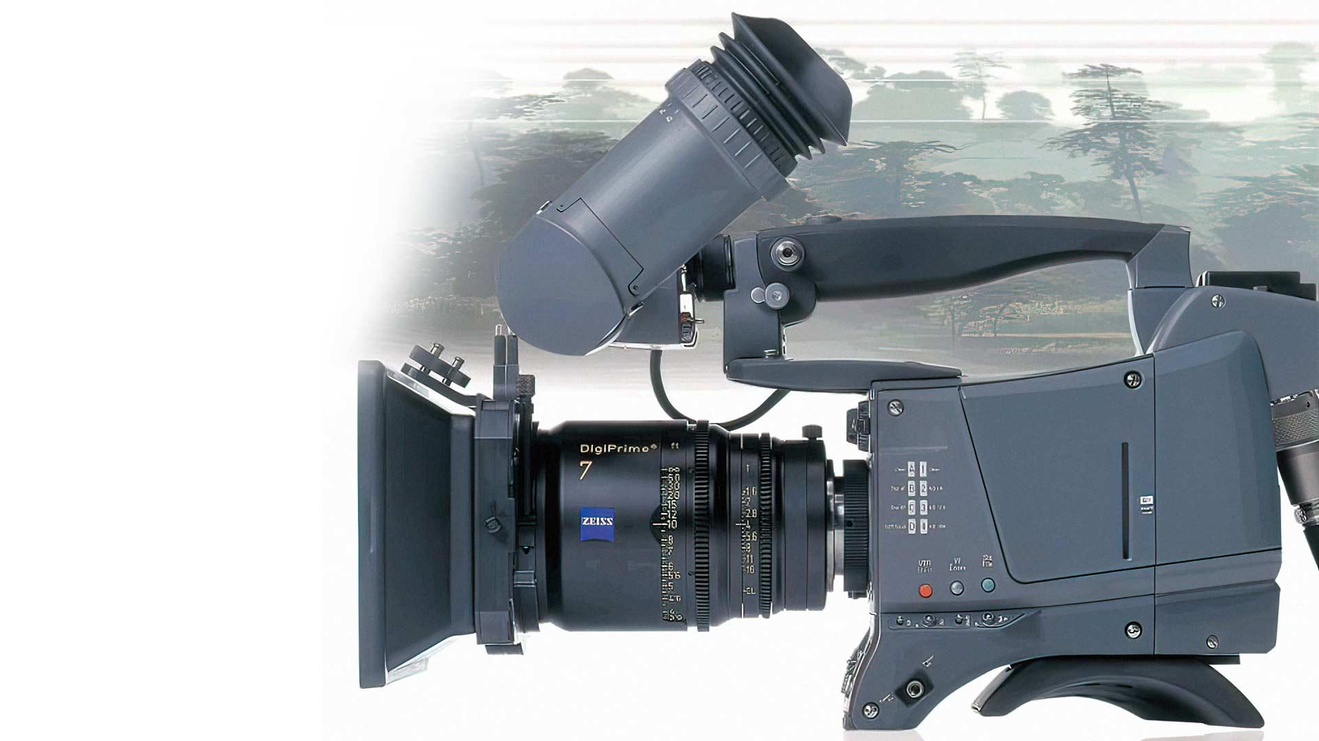 The Thomson Viper Filmstream camera.