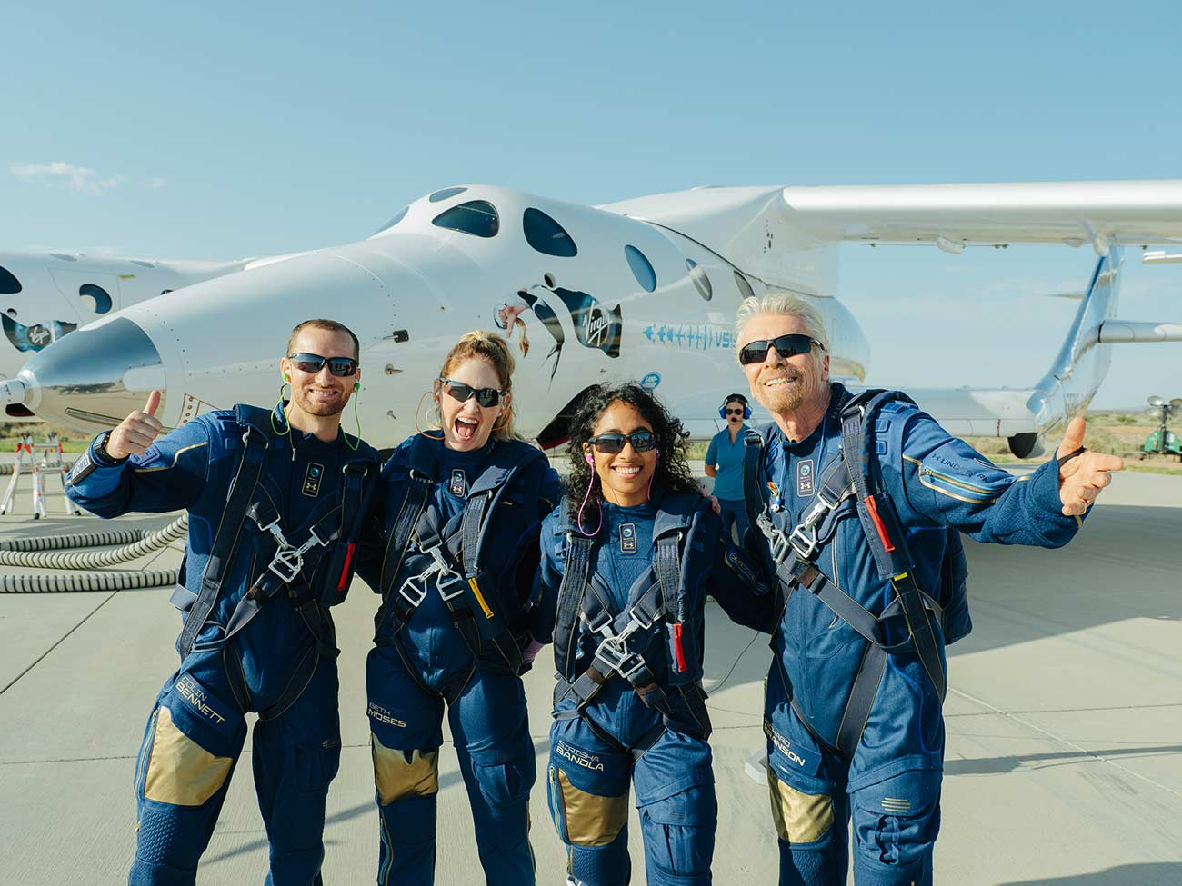 - Virgin Galactic Unity22 crew jpg - Branson and Bezos, why the new space race is about more than billionaires
