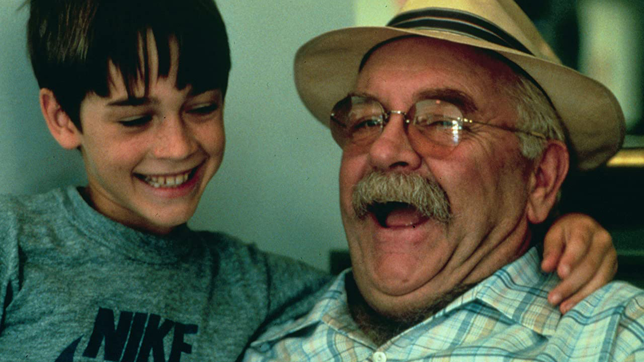 Wilford Brimley and Barret Oliver in Cocoon (1985).