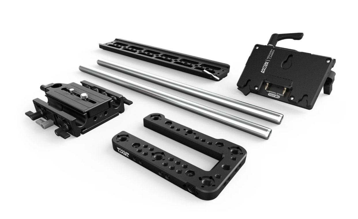 Wooden Camera Sony FX6 accessory kit.