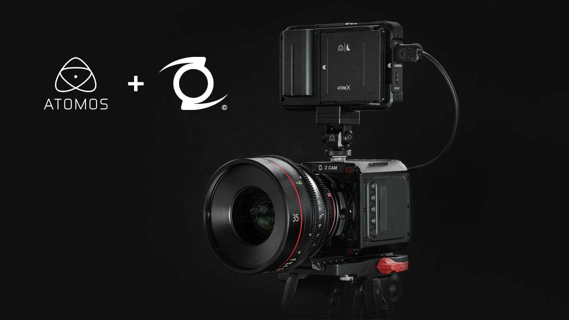 Z CAM Cameras can all now record ProRes RAW with an Atomos Ninja V.
