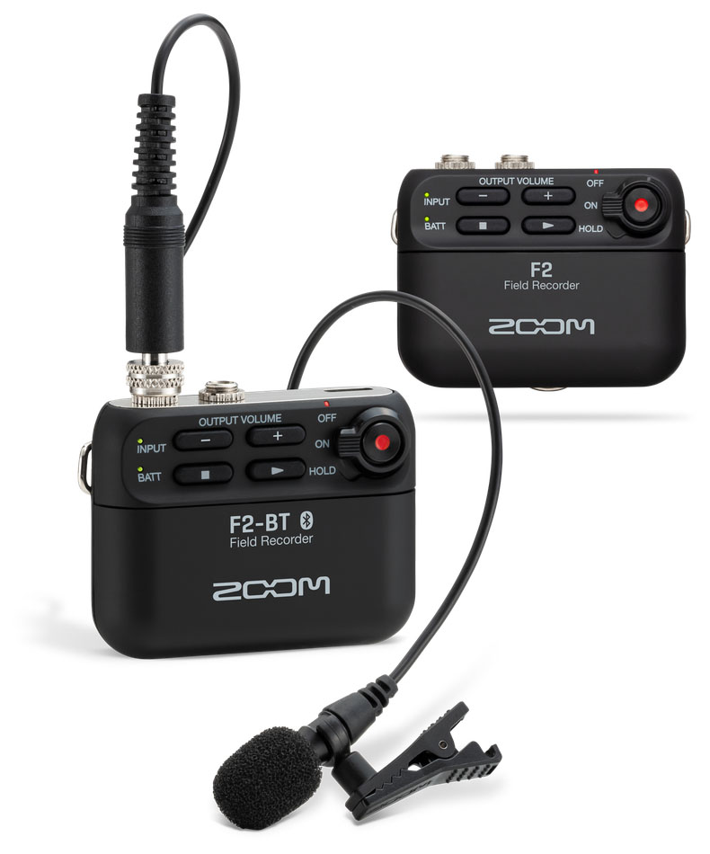 Zoom Unveils the F2 Ultracompact 32-bit Float Portable Field Recorder