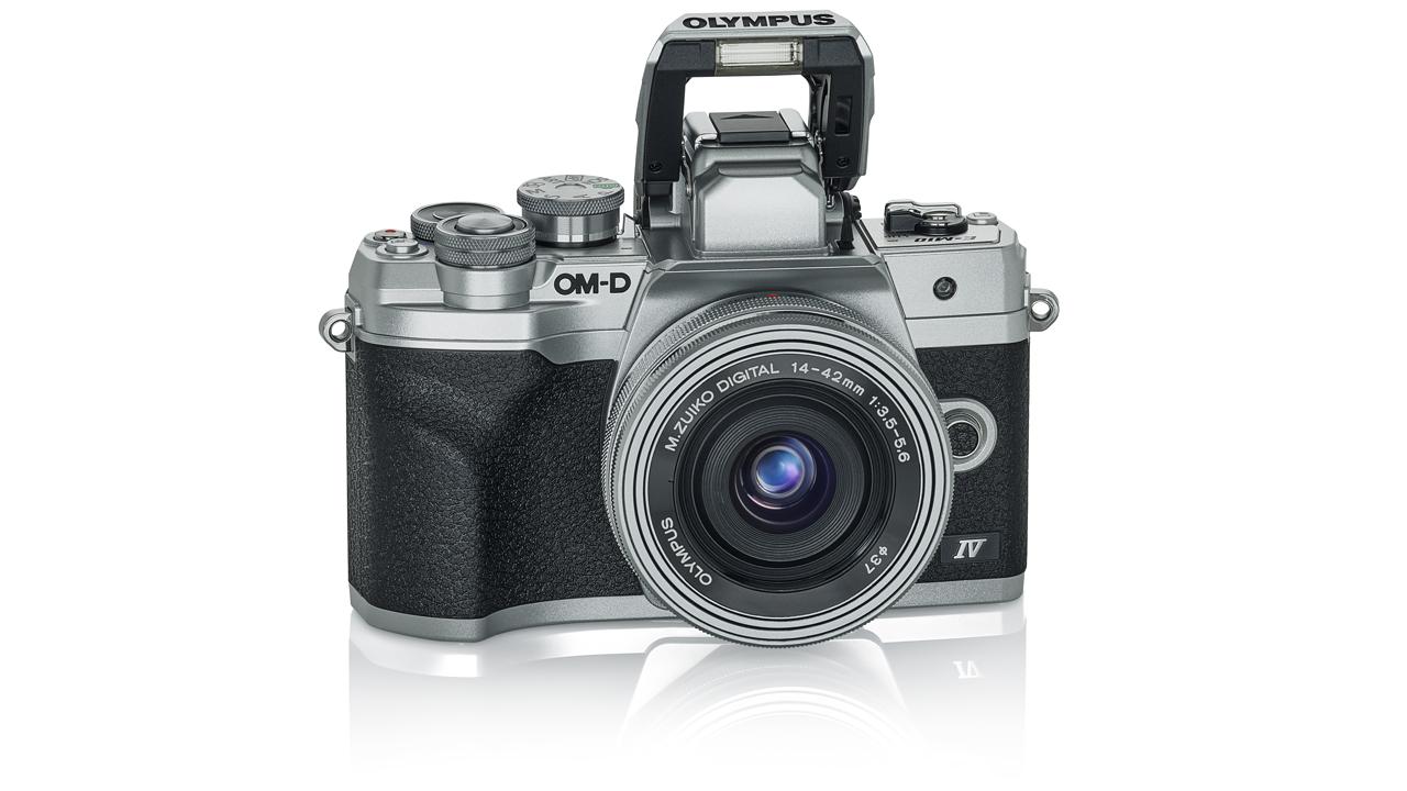 Olympus OM-D E-M10 Mark IV. Image: Olympus.
