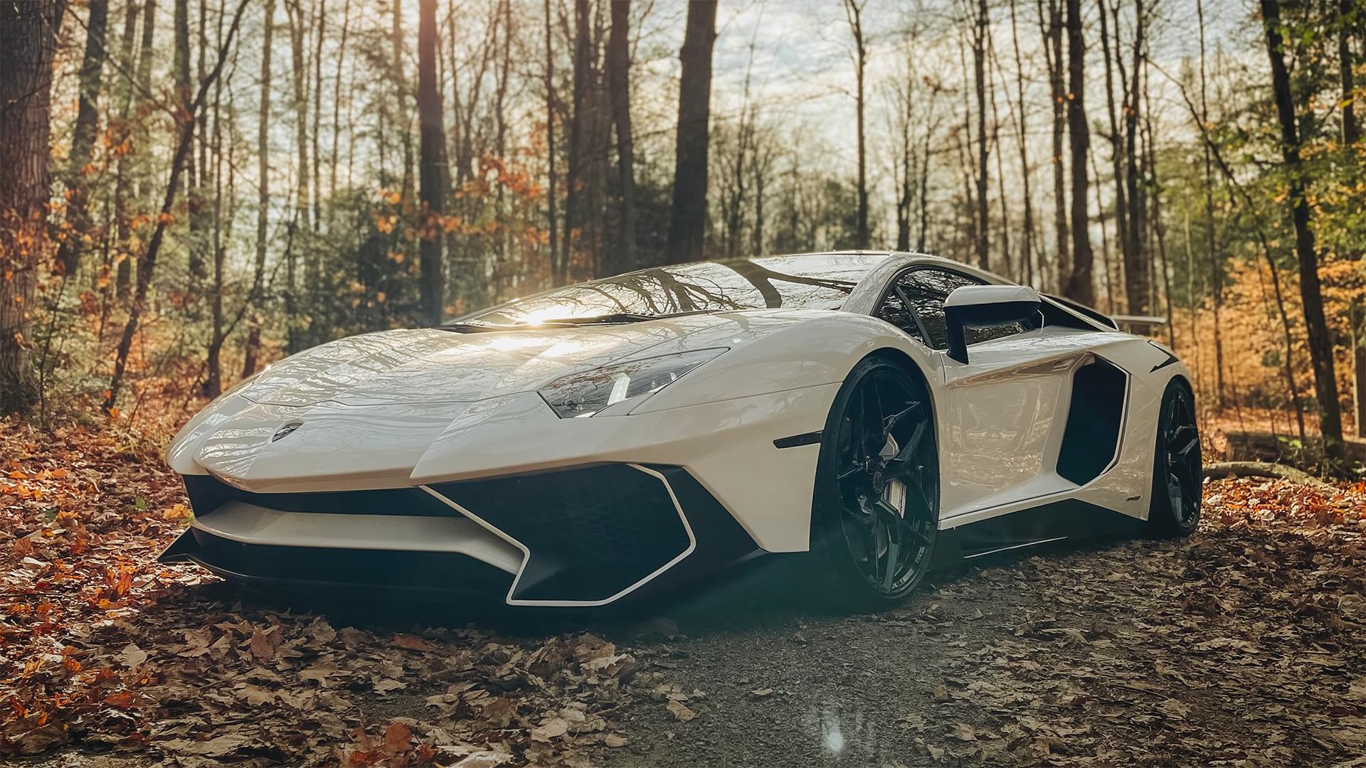 Lamborghini taken with iPhone 12 Pro Max. Image: Peter McKinnon screen grab.