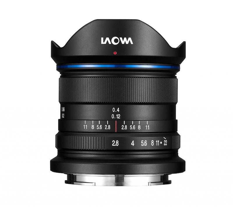 Laowa 9mm f/2.8 Zero-D lens.